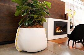 Stitch 125 Plant Pot - In-Situ Image by Blinde Design