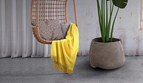 Stitch 75 Plant Pot - In-Situ Image by Blinde Design