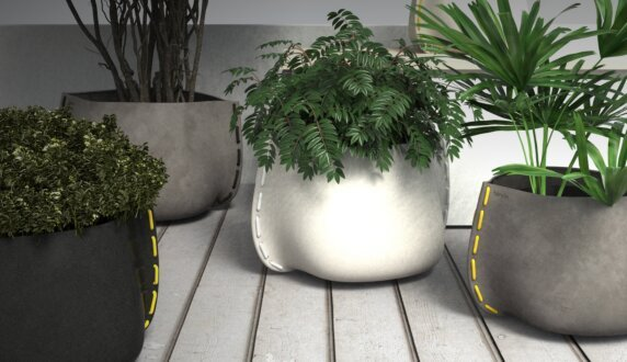 Outdoor Setting Plant Pot Collection - Stitch 100 Plant Pot by Blinde Design