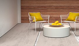 Courtyard Blinde Design Coffee Table Idea