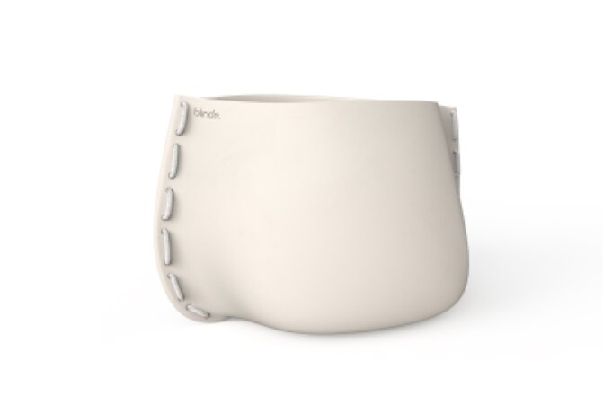 Stitch 125 Planter - Bone / White by Blinde Design