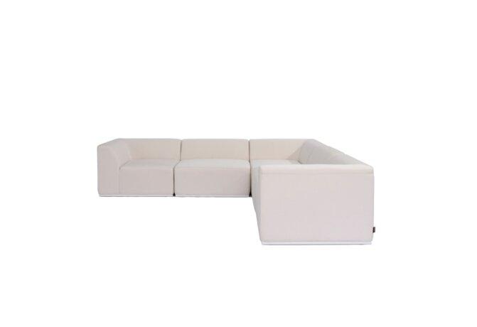 Relax Modular 5 L-Sectional Modular Sofa - Canvas by Blinde Design