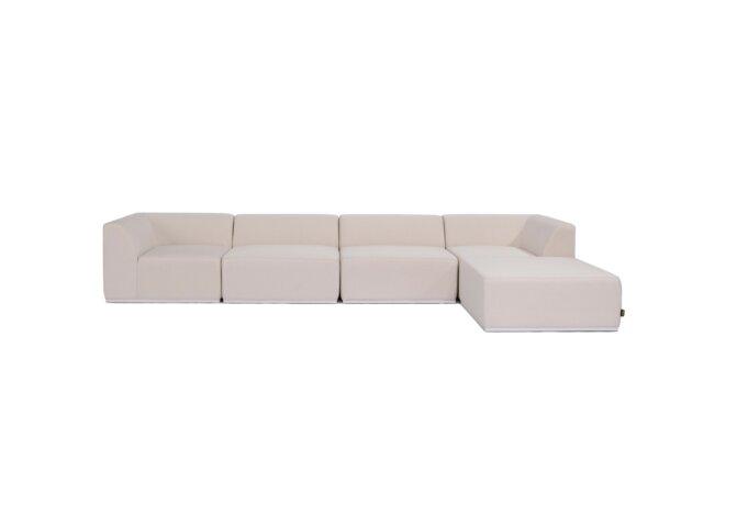 Relax Modular 5 Sofa Chaise Modular Sofa - Canvas by Blinde Design