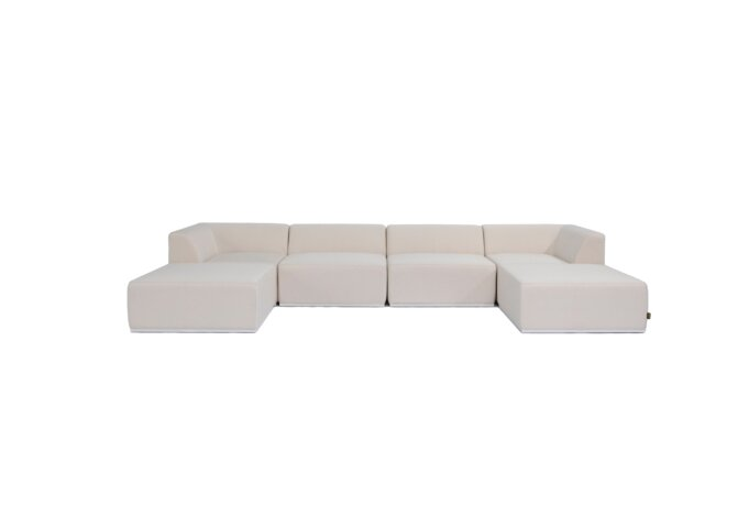 Relax Modular 6 U-Chaise Sectional Modular Sofa - Canvas by Blinde Design