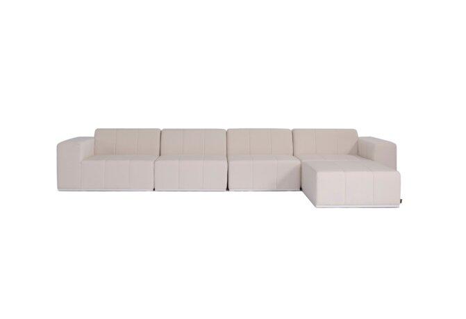 Connect Modular 5 Sofa Chaise Modular Sofa - Canvas by Blinde Design