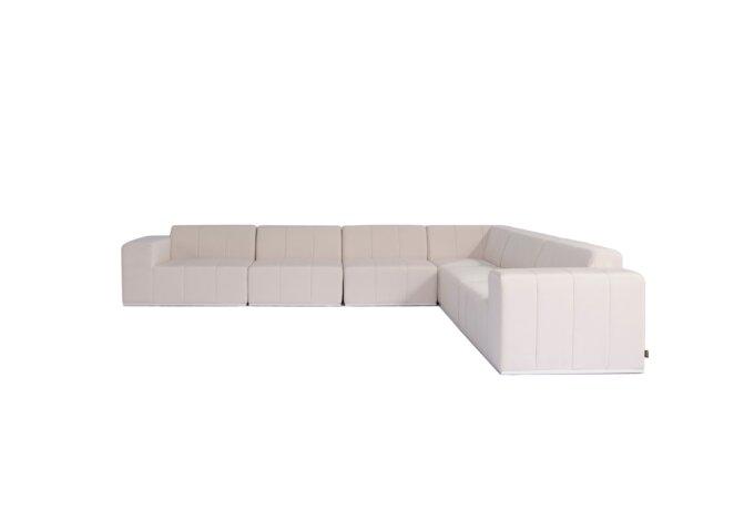 Connect Modular 6 L-Sectional Modular Sofa - Canvas by Blinde Design