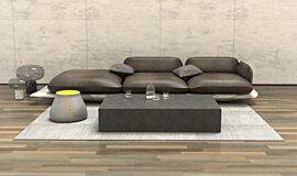 Living room Blinde Design Coffee Table Idea
