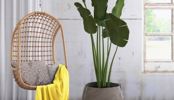 Outdoor Setting - Stitch 75 Plant Pot by Blinde Design