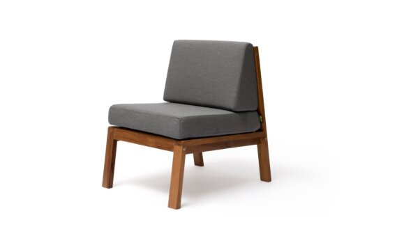 Sit D24 Chair - Flanelle by Blinde Design